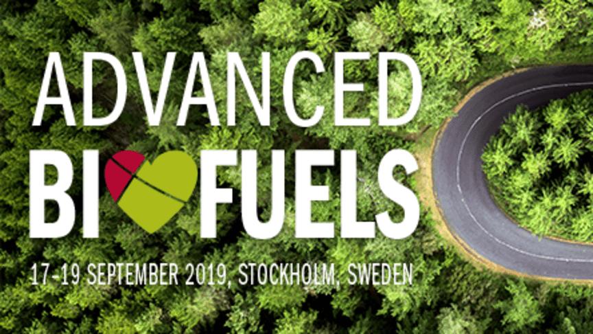 Pressinbjudan: Advanced Biofuels Conference – Internationell konferens för avancerade biobränslen