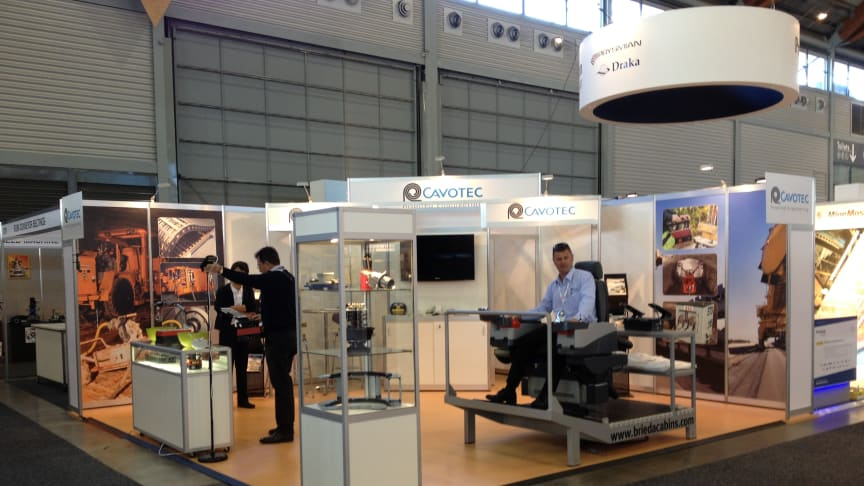 The Cavotec team readies for this year's AIMEX mining exhibition in Sydney