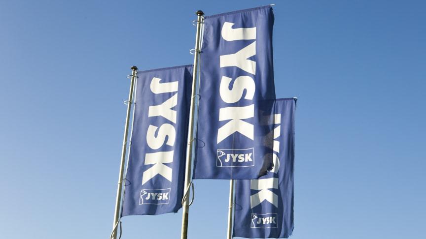 Οι σημαίες της JYSK θα κυματίζουν από τις 18 Ιουνίου και στο Χαλάνδρι