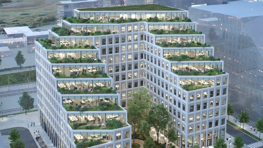 Sveriges första klimatneutrala kontorsbyggnad