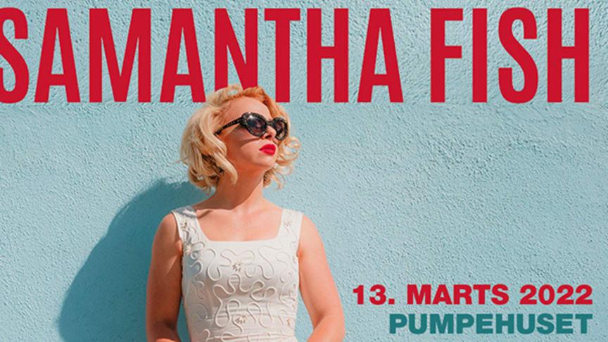 Den amerikanske blues-guitarist og sangerinde/ sangskriver Samantha Fish indtager Pumpehuset.