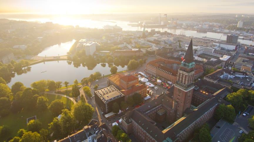 Die Landeshauptstadt Kiel ist die einzige deutsche Großstadtmetropole direkt am Meer