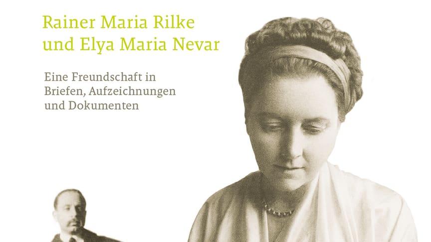Cover ‹Dichter und Prinzessin› mit Briefen von Rainer Maria Rilke und Elya Maria Nevar (Verlag am Goetheanum)