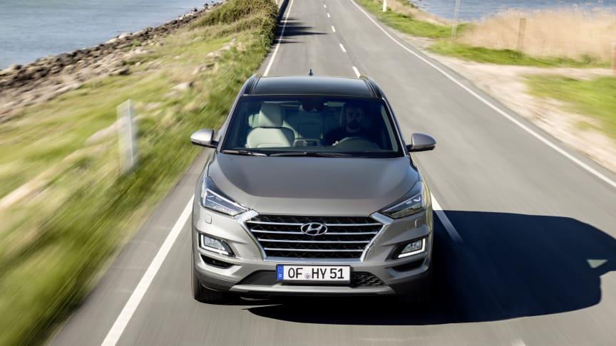Nye Hyundai Tucson. Foto Hyundai