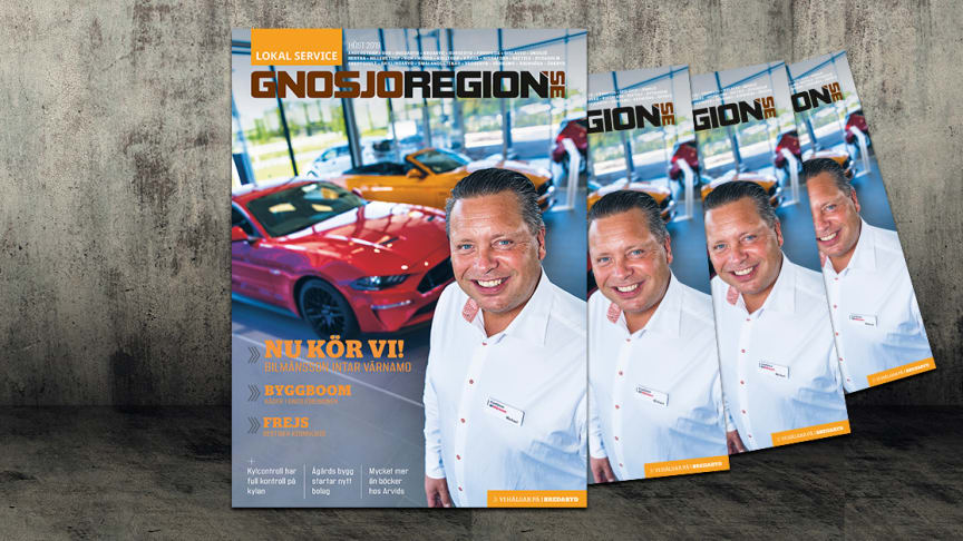 Ford är tillbaka på marknaden i Värnamo – större och starkare än någonsin med Smålands största FordStore.