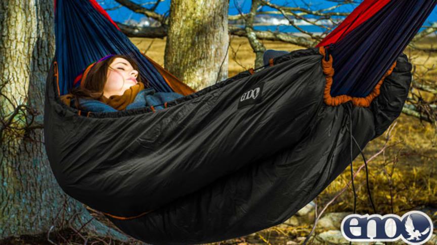 Sov godt utendørs hele året rundt – i hengekøye!