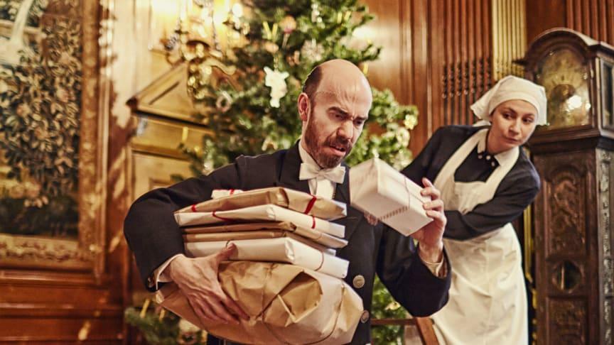 Juldramavisning i det Hallwylska palatset. Ett säkert adventstecken!