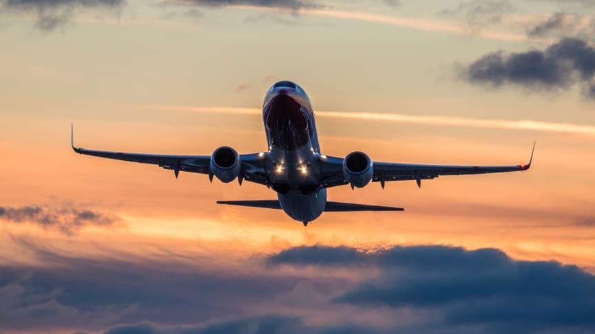 Norwegians 737-800. Foto: David Peacock