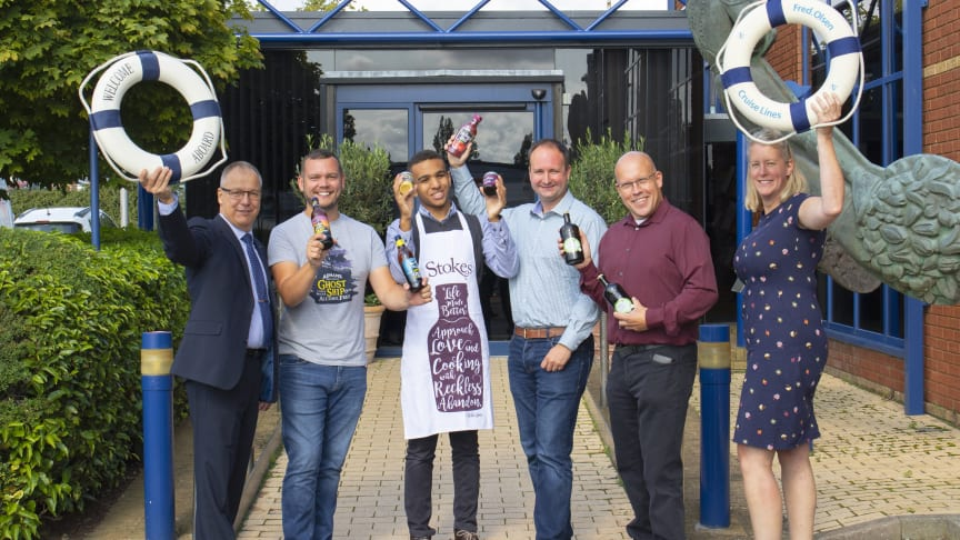 Fred. Olsen Cruise Lines brings taste of Suffolk to the high seas with introduction of new products local to company headquarters
