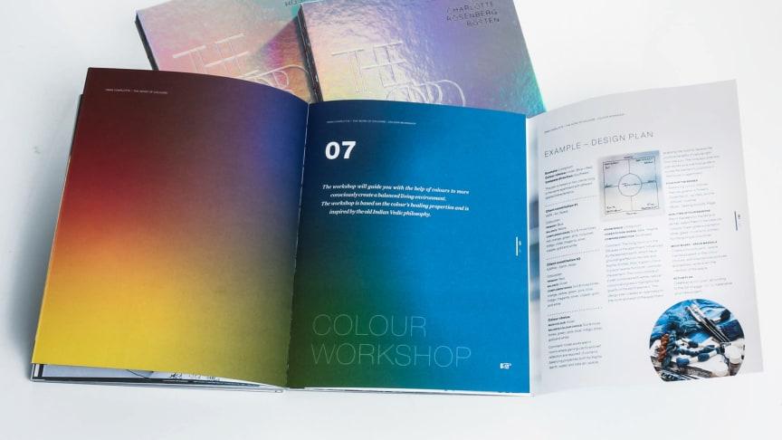 Workshopen som ingår i boken är ett utmärkt verktyg som kan användas både privat samt som professionell Inredare, stylist.