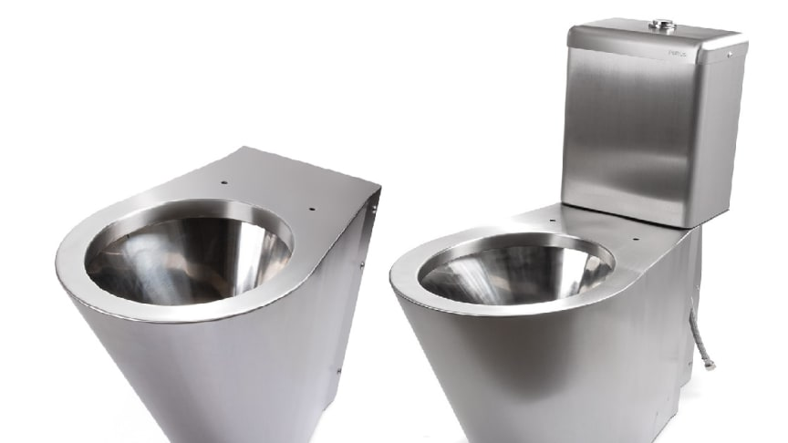 New version of our stainless  steel toilets V130 & V131.