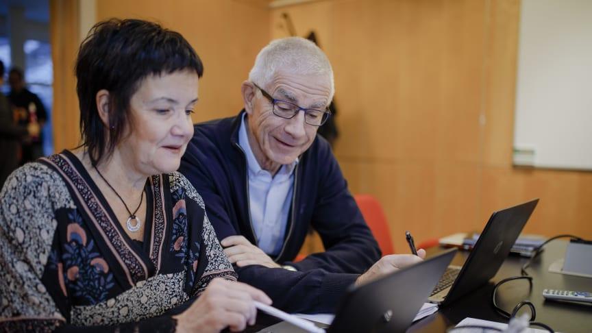 Två av Lipums grundare Susanne Lindquist och Olle Hernell.