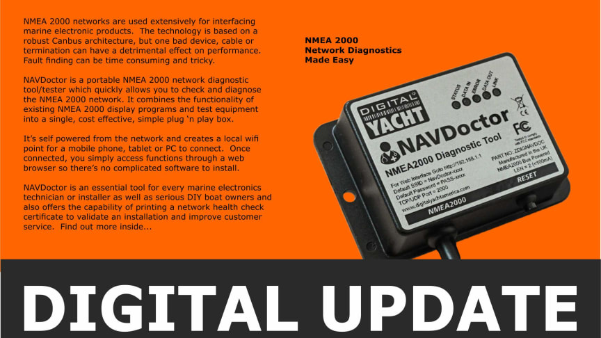 Digital Yacht Update August 2020 Edition Available Now