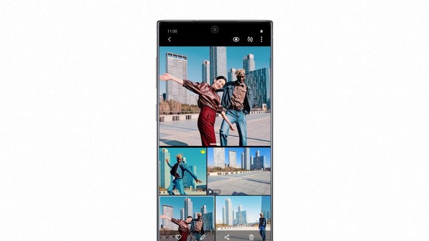 Nappaa kuviisi entistä enemmän –  Uusia kameraominaisuuksia Galaxy S10:lle ja Note10:lle