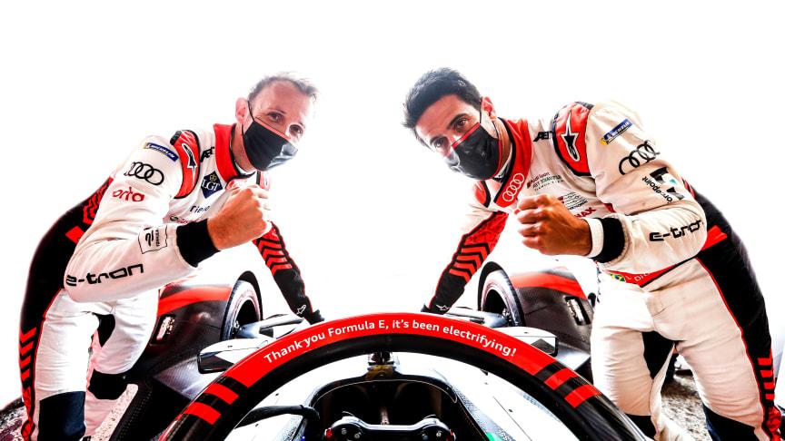Audi siger farvel til Formel E med sejr nr. 14