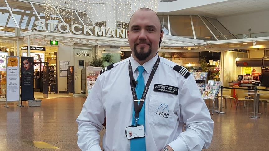 Työnä turvallisuus: Hansassa voi shoppailla rauhassa