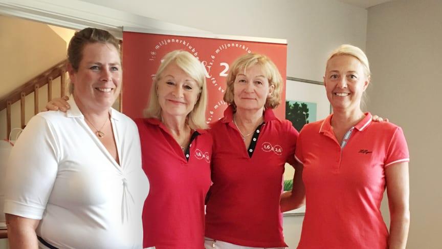 Eva Karlsson, Alexandra Charles, Annika Norén, Therese Olofsson
