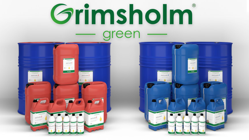 The new Alkylate product range from Grimsholm Green.