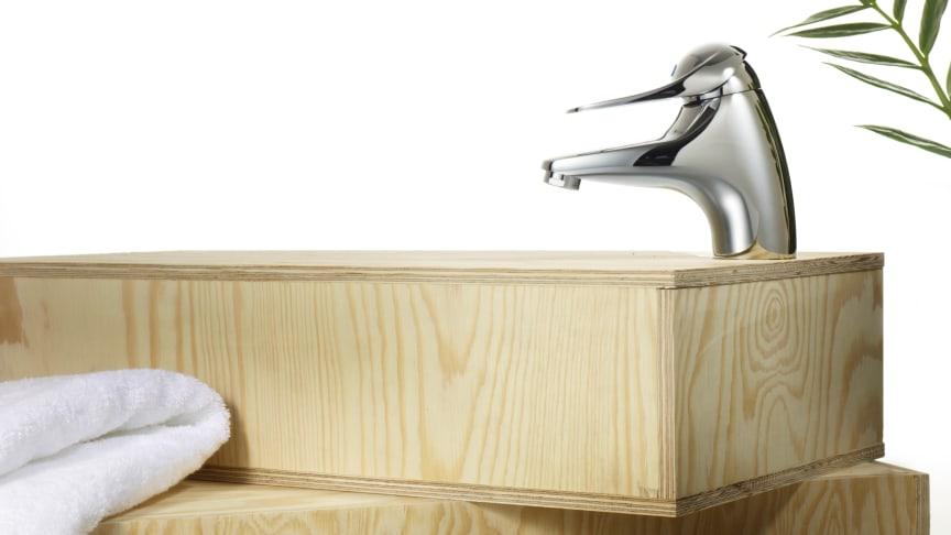 Tvättställsblandare 9000E – nu ännu mer energieffektiv!