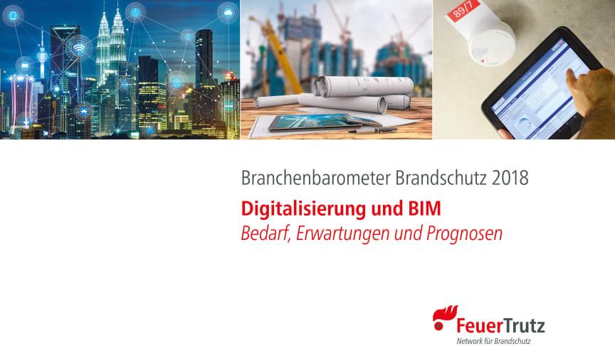 """FeuerTrutz """"Branchenbarometer Brandschutz 2018"""""""