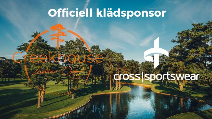 Cross Sportswear officiell klädsponsor av Creekhouse Ladies Open