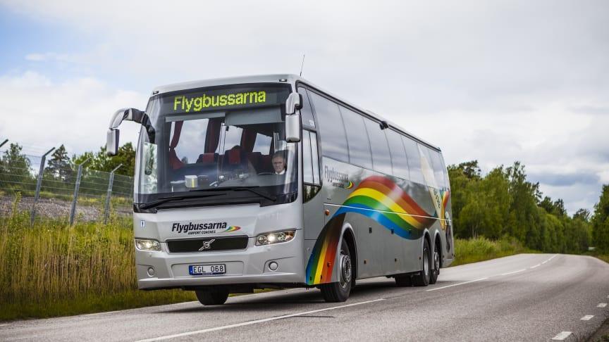 Flygbussarna utökar sin trafik till Arlanda och Landvetter.