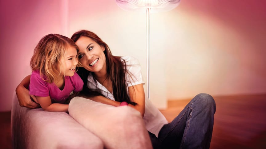 Philips LivingAmbiance – ljus som skapar stämning i höstmörkret