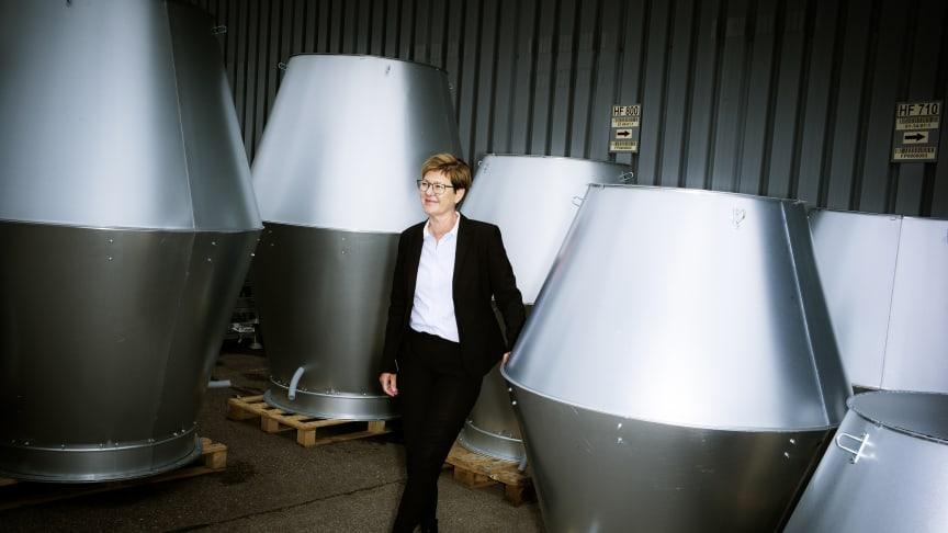 Mette Brøndum, adm. direktør, Lindab A/S har netop offentliggjort årsregnskabet for 2019, der viser stabil omsætning og solid bundlinje.