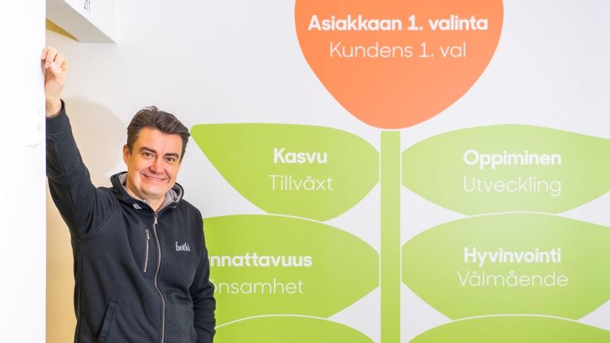 """Toimitusjohtaja Sami Haapasalmi: """"hyvinvoinnin merkitys on korostunut viime kuukausina""""."""