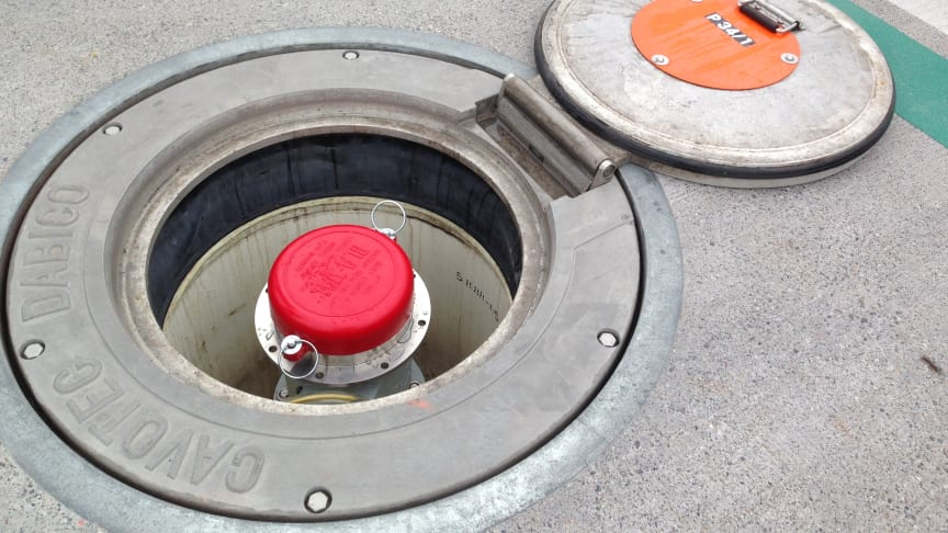 Safe and secure: a Cavotec in-ground fuelling system