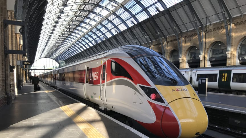 LNER announces date for new Azuma trains entering service