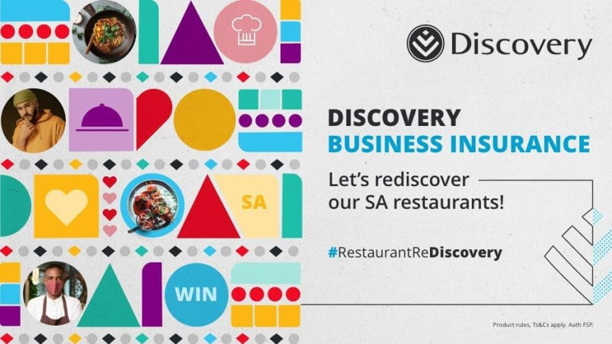 Discovery Business Insurance marks Heritage Month with the shortlisting of 7 finalists in Restaurant ReDiscovery competition