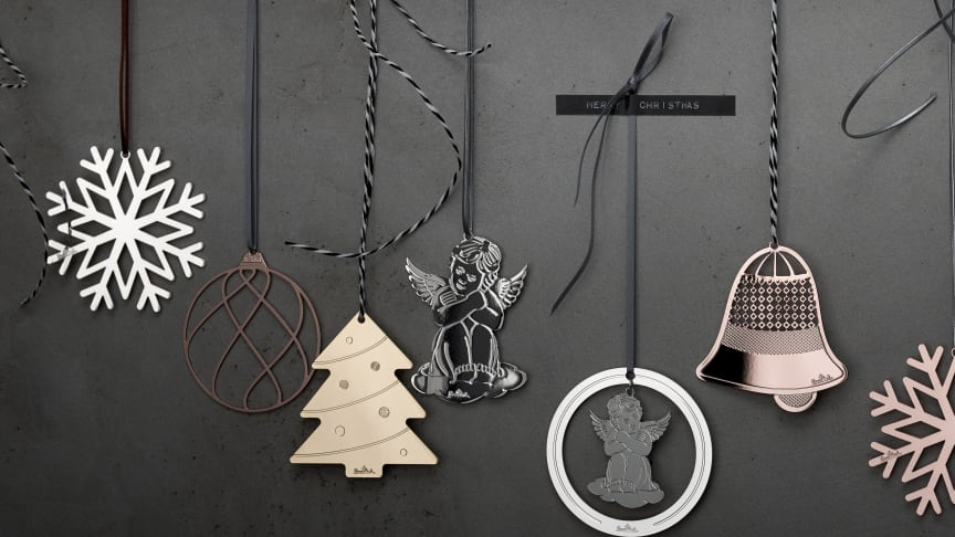 Delicate angels, snowflakes or Christmas trees: the Rosenthal Silver Collection with its Christmas pendants makes this year's Christmas tree a special highlight.