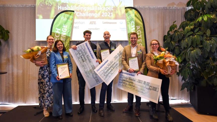Luleåbaserade start-upen Containing Greens kammar hem dubbla priser i Agtech Challenge