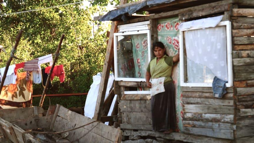 Kvinna i Miercurea Ciuc, Rumänien © Amnesty International