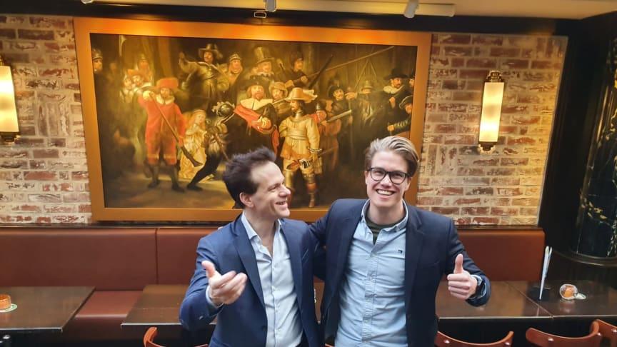 Tobias Henmark og Bas van Oorschot