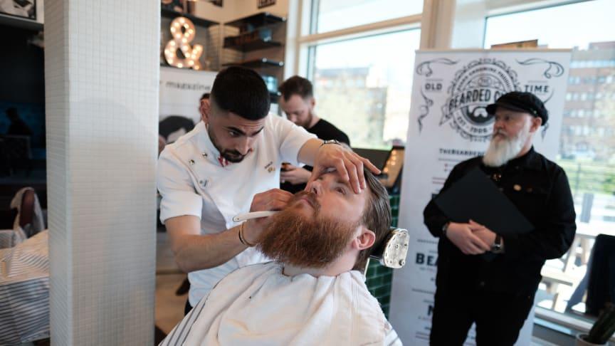 Södra Sveriges bästa barberare - Antonino Ratto från The Barber i Malmö.