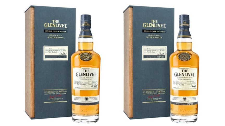 The Glenlivet lanserar två nya Single Cask