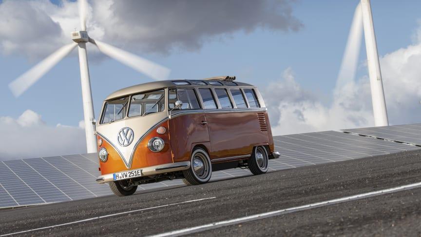 Den ligner sig selv, men denne T1 Sambabus fra 1966 gemmer på store forandringer.