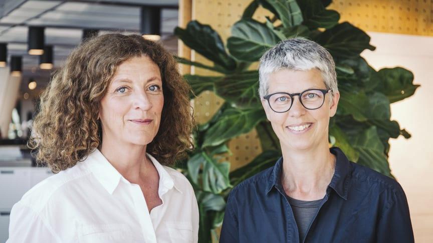 Lina Swanberg och Karolina Lorentzi driver frågan om socialt hållbara skolmiljöer i Almedalen.