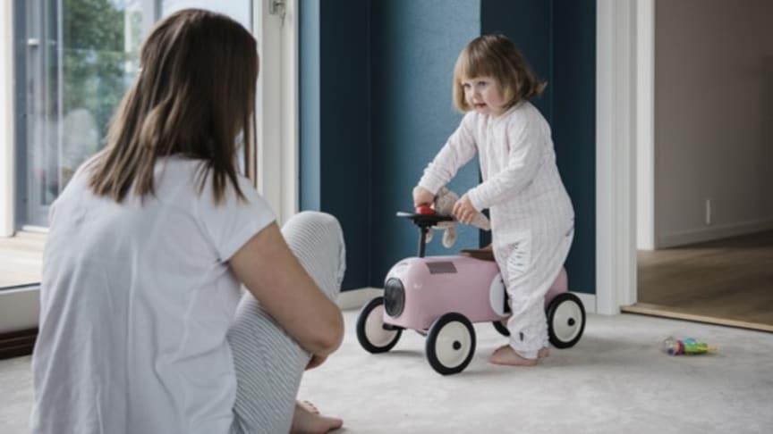 Fleksible rom med mange funksjoner gir mulighet for å oppfylle alle familiens ønsker