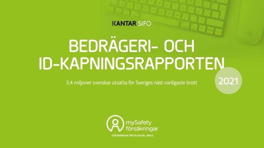 Nära 200 000 svenskar fick sin identitet kapad senaste året