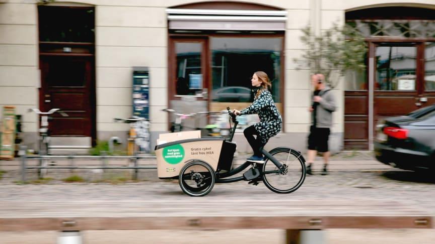 IKEA e-bikes