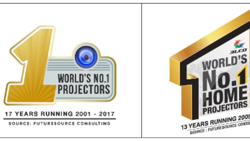 Press Release: Epson named world's number one projector brand  for 17 consecutive years