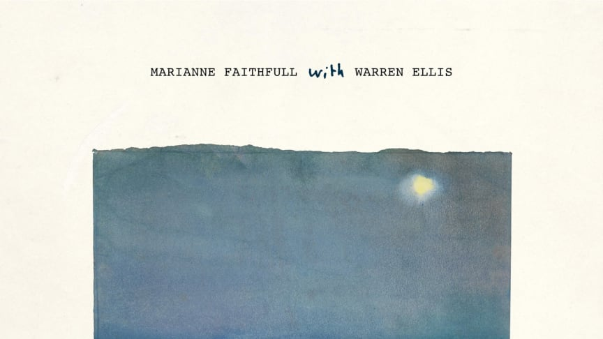 "NYTT ALBUM. Marianne Faithfull & Warren Ellis släpper ett album med poesi och musik; ""She Walks In Beauty"""