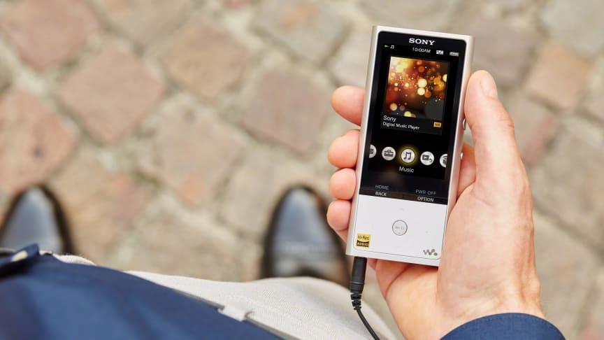 Плеер Walkman NW-ZX100HN с поддержкой High Resolution Audio