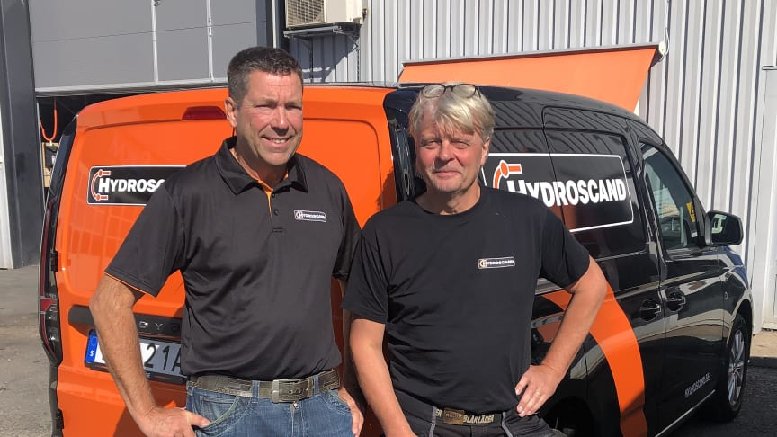 På bilden från vänster: Tomas Jonsson och Sören Åkesson.