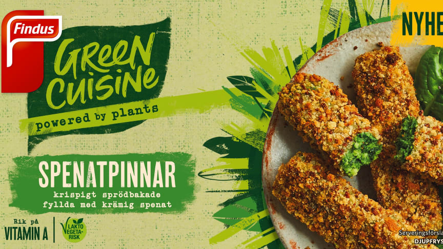 Nya Findus Green Cuisine!