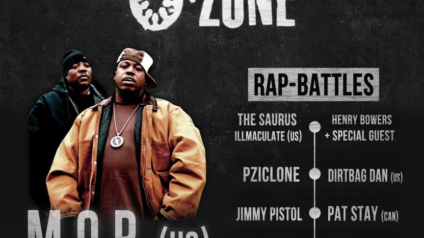Världsartister till The O-Zone Battles i Malmö