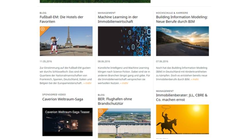 immobilienmanager.de: frisches Layout und viele neue Inhalte rund um die Immobilienwirtschaft